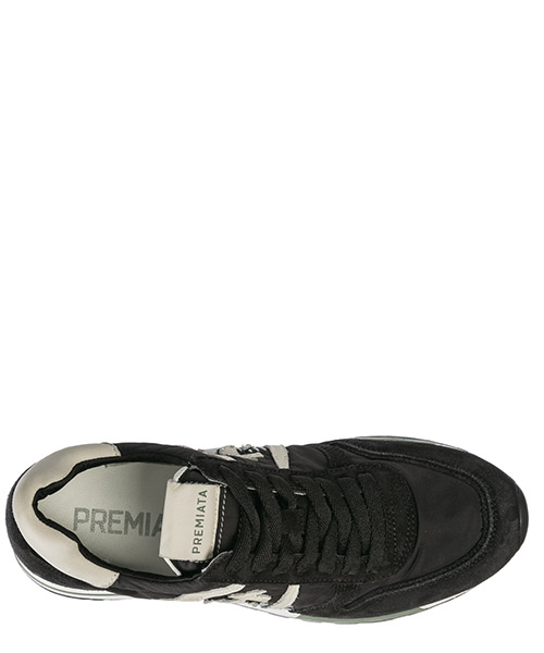 Scarpe sneakers donna in pelle kim secondary image