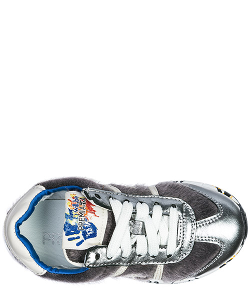 Scarpe sneakers bambina pelle lucy secondary image