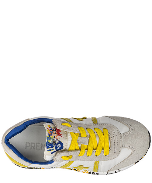 Scarpe sneakers bambino camoscio lucy secondary image
