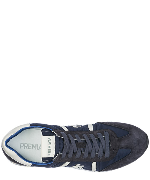 Chaussures baskets sneakers homme en daim lucy secondary image