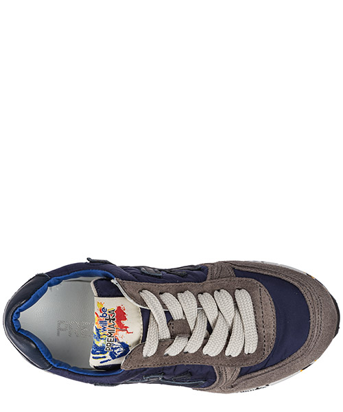 Chaussures baskets sneakers garçon en daim mick secondary image