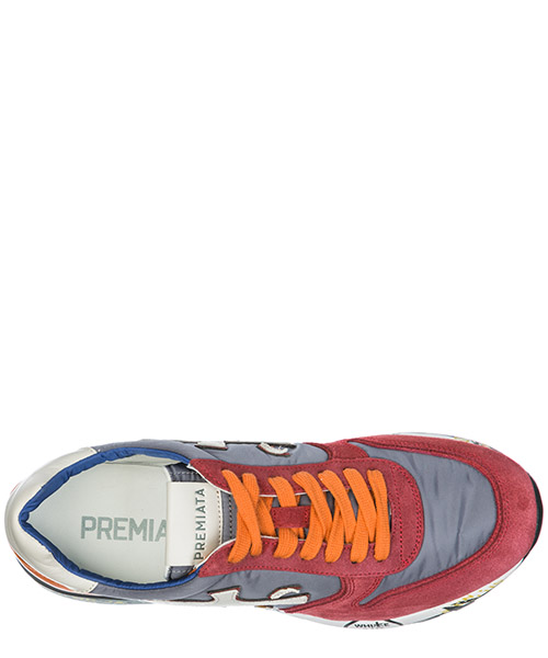 Chaussures baskets sneakers homme en daim mick secondary image