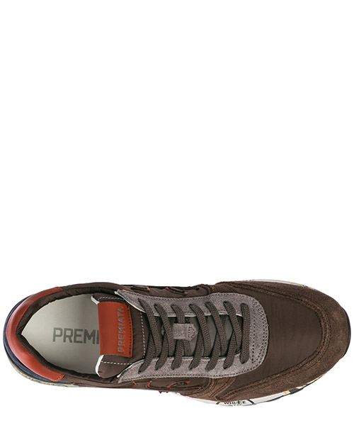 Men's shoes suede trainers sneakers mick secondary image