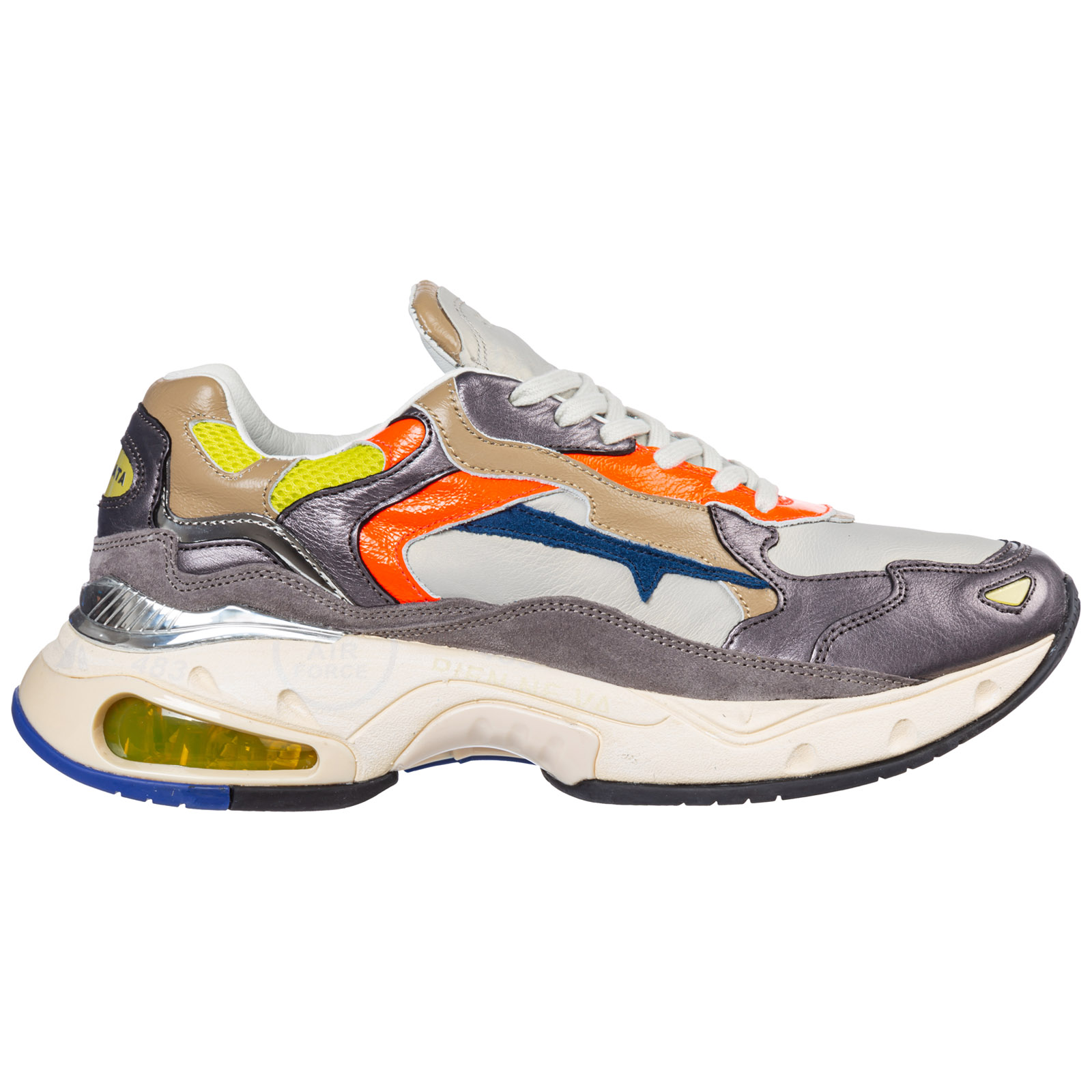 Premiata Sneakers MEN'S SHOES LEATHER TRAINERS SNEAKERS SHARKY