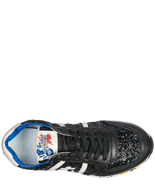 Scarpe sneakers bambina pelle secondary image