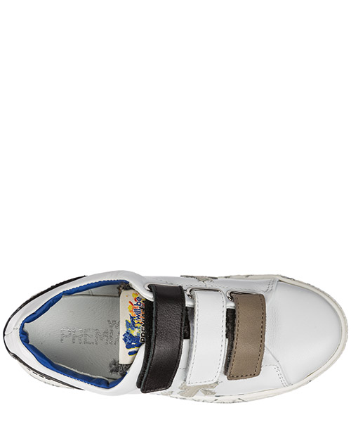 Scarpe sneakers bambino camoscio steve v secondary image