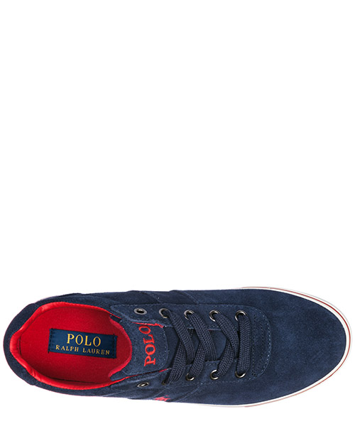 Chaussures baskets sneakers homme en daim hanford secondary image