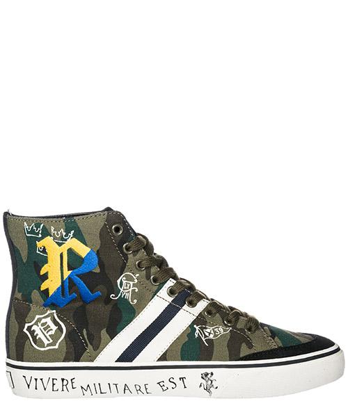 Zapatillas altas Ralph Lauren - 816717360001 olive camouflage