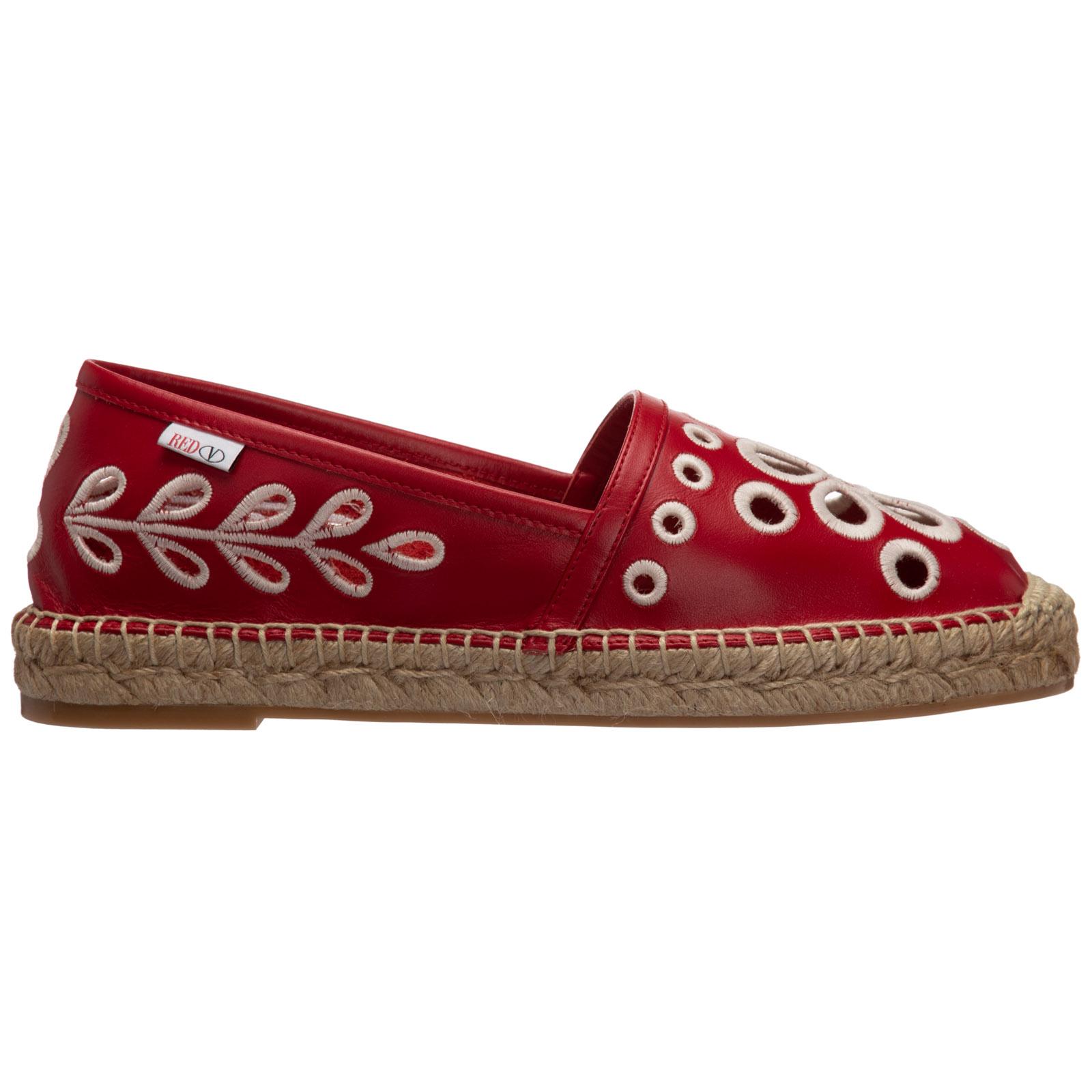 Red Valentino Espadrills WOMEN'S ESPADRILLES SLIP ON SHOES
