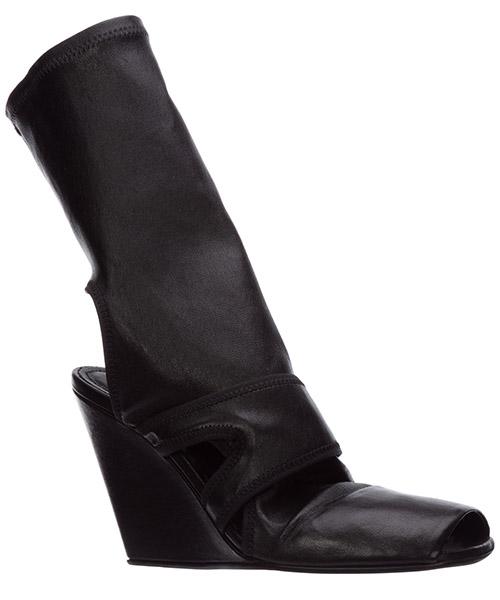 Damen leder stiefeletten stiefel ankle boots mit absatz secondary image