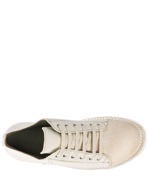 Men's shoes leather trainers sneakers no cap secondary image