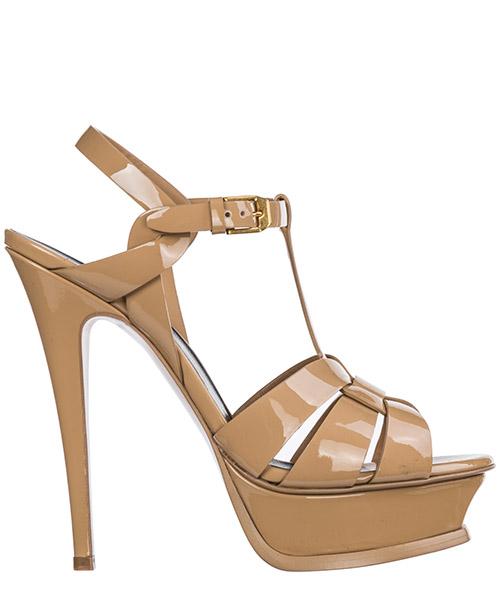 Sandals Saint Laurent Tribute 315487B81009934 darker nude
