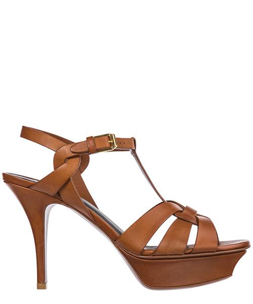 Sandals Saint Laurent Tribute 315490D1U002206 ambra