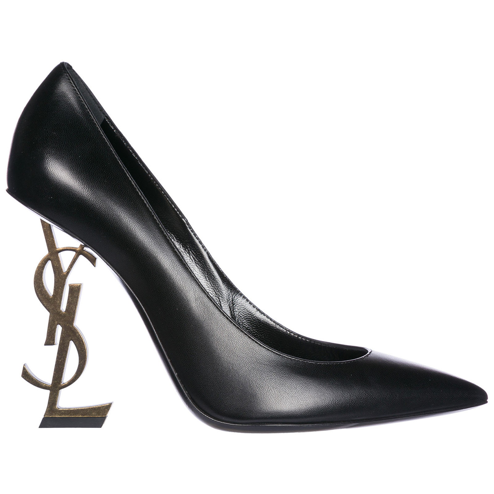 Decolletes decoltè scarpe donna con tacco pelle opyum