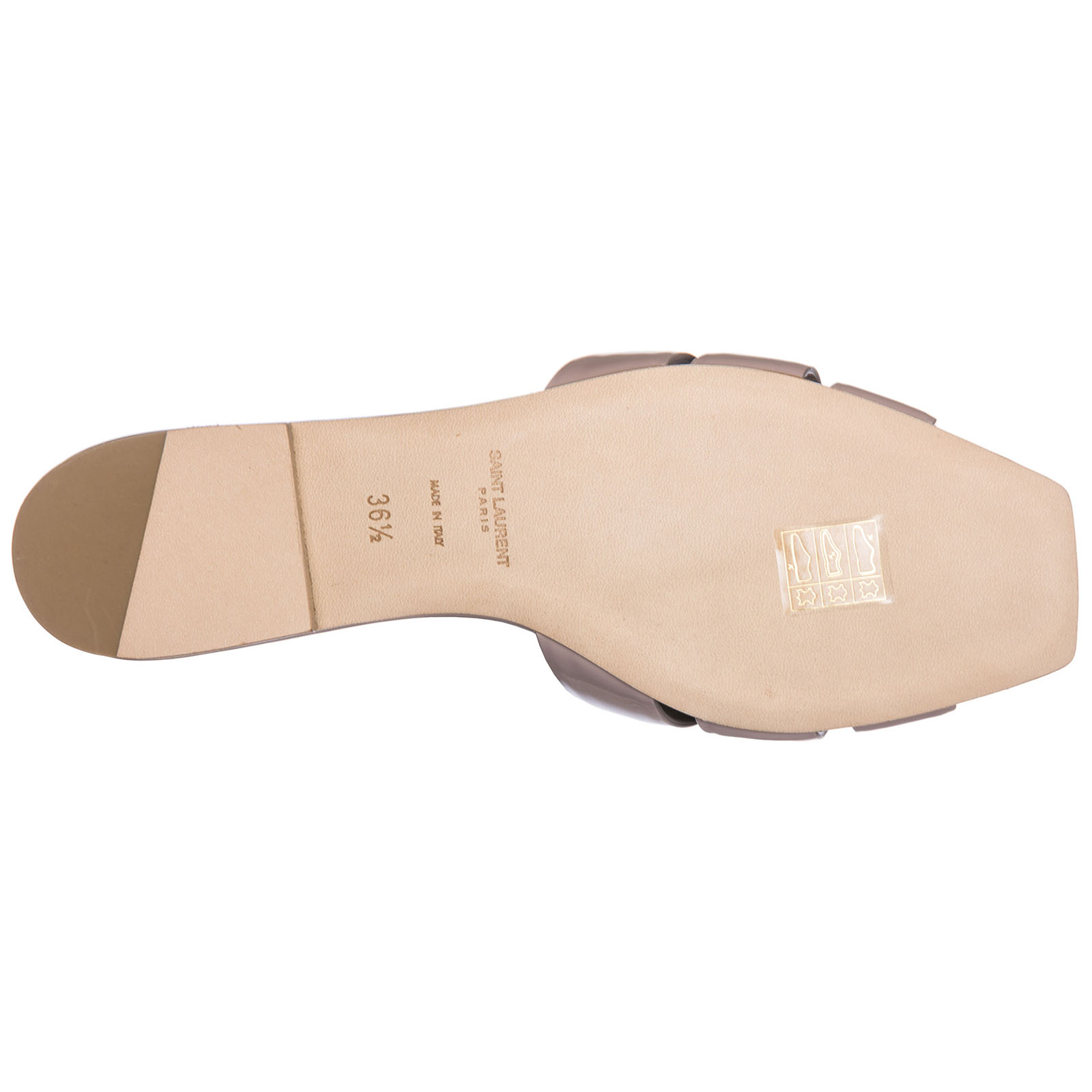 746c01f66a0 ... Women s genuine leather slippers sandals nu pieds ...