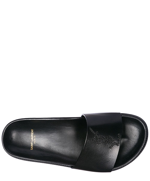 Women's genuine leather slippers sandals jimmy secondary image