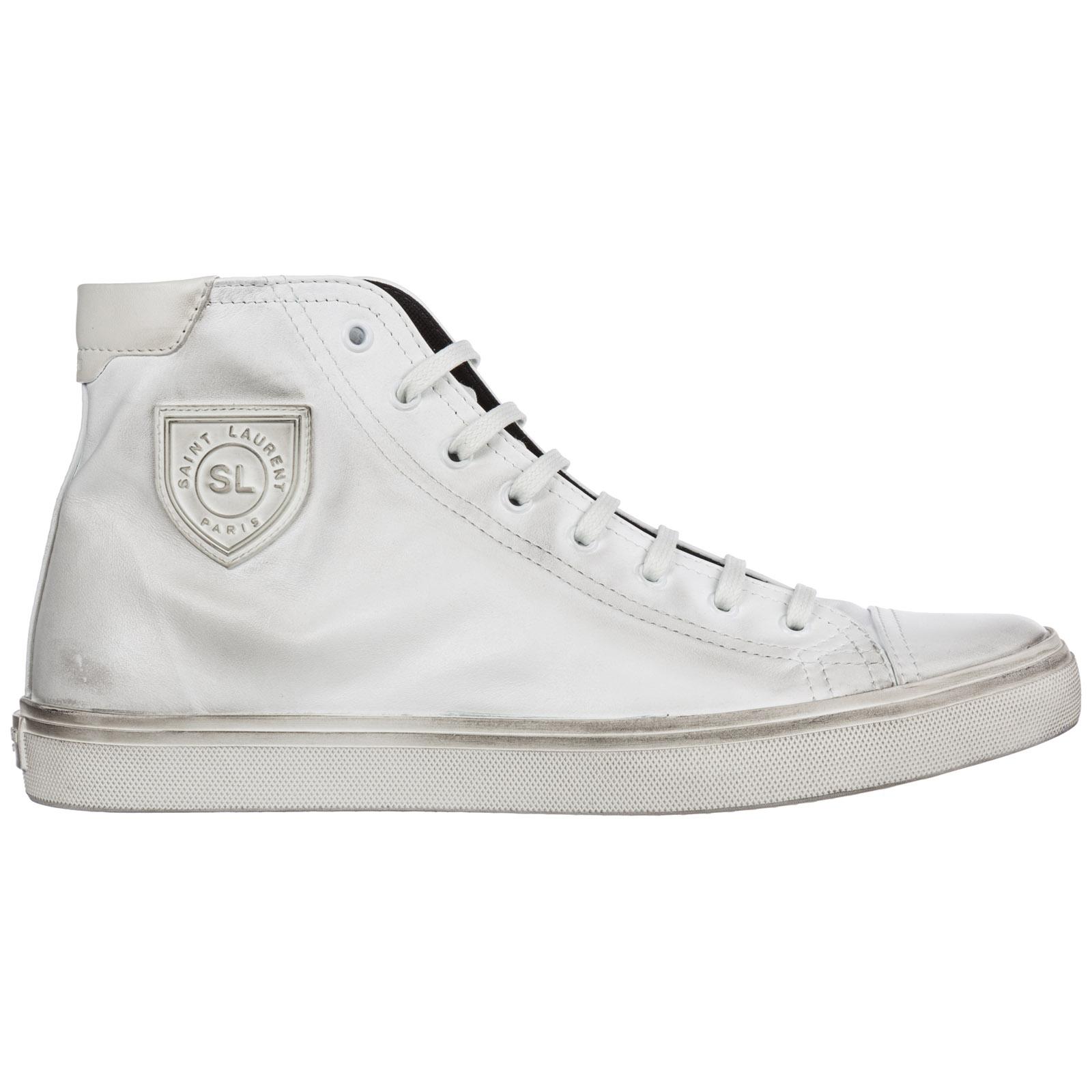 062177fa104 Sneakers Saint Laurent Bedford 5138310O6109030 blanc optic | FRMODA.com