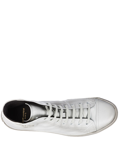 Scarpe sneakers alte uomo in pelle bedford secondary image