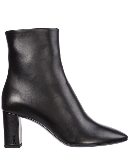 Heeled ankle boots Saint Laurent Lou Lou 5293500RRVV1000 nero
