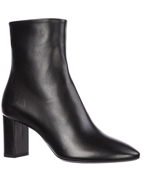 Women's leather heel ankle boots booties lou secondary image