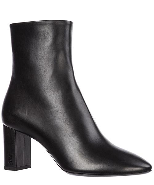 Botines de tacón botas mujer en piel lou secondary image