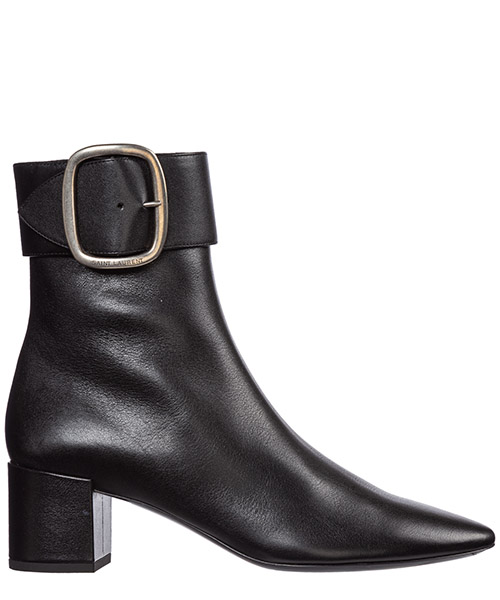 Heeled ankle boots Saint Laurent joplin 5368200s3001000 nero