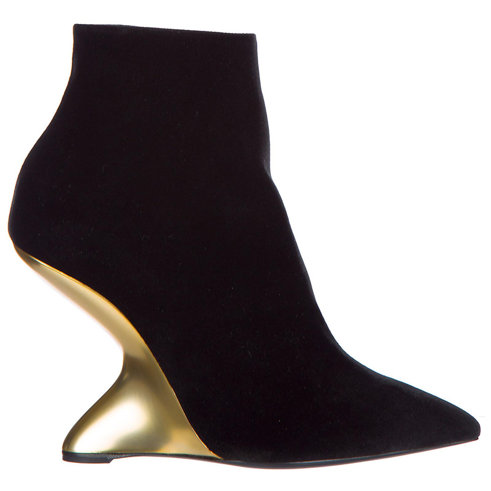 Stivaletti stivali donna con tacco in pelle bolgheriv