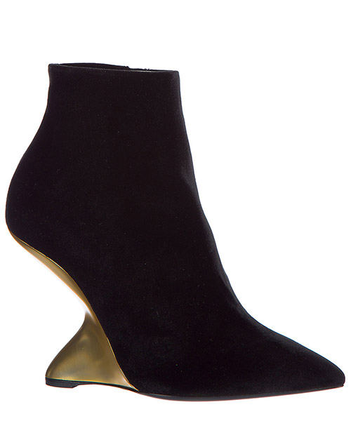 Women's leather heel ankle boots booties bolgheriv secondary image