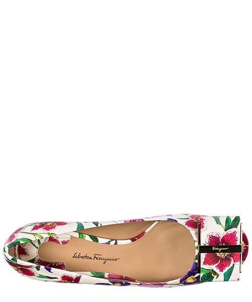Escarpins chaussures femme à talon en cuir capua secondary image
