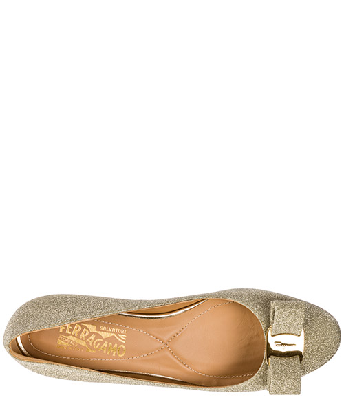 Women's leather ballet flats ballerinas  varina secondary image