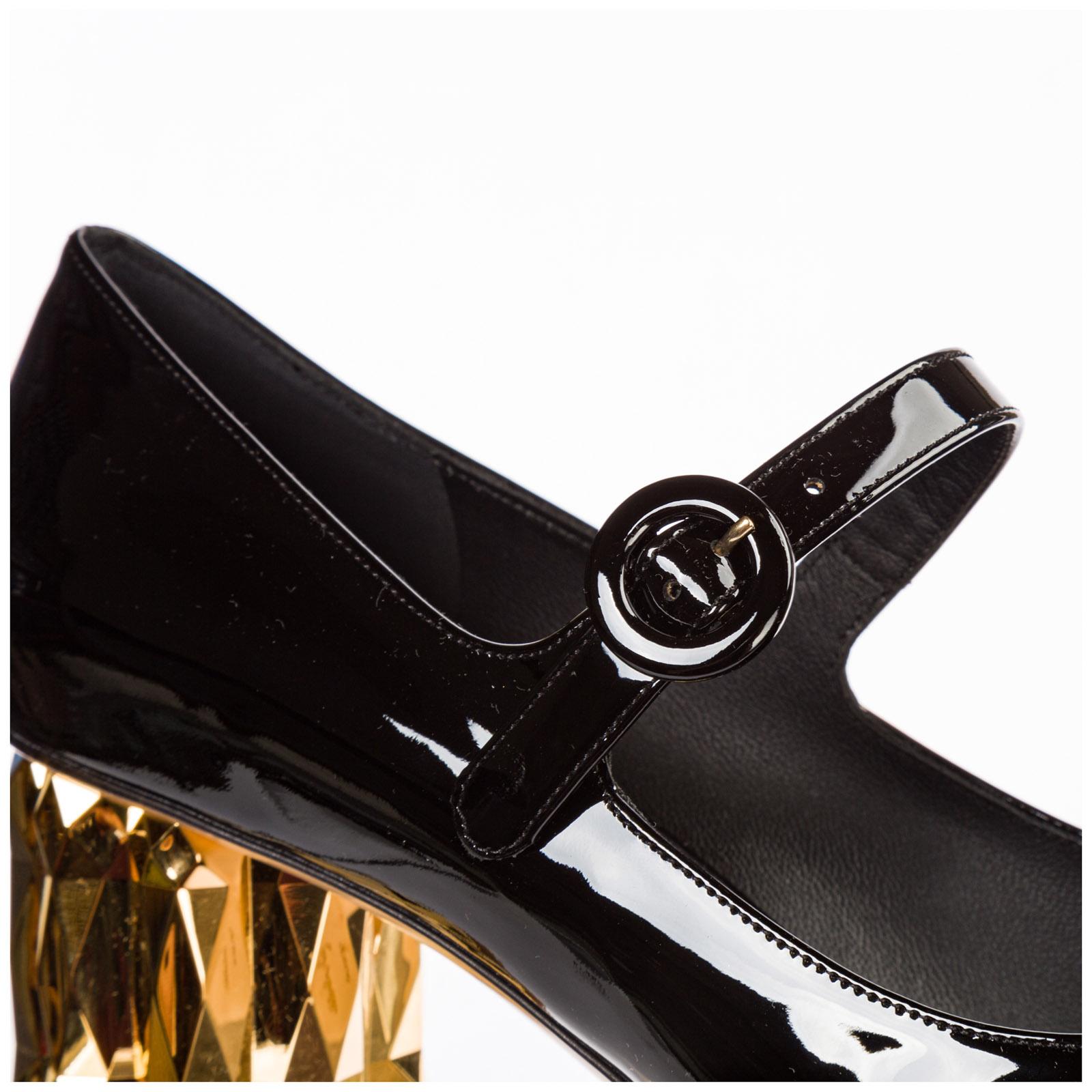 Decolletes decoltè scarpe donna con tacco pelle