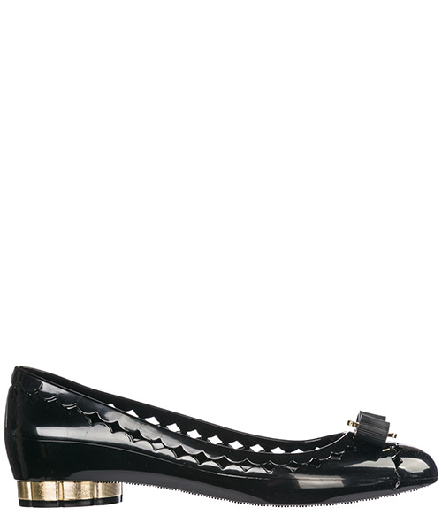 Bailarinas Salvatore Ferragamo Jelly 035049 688557 nero