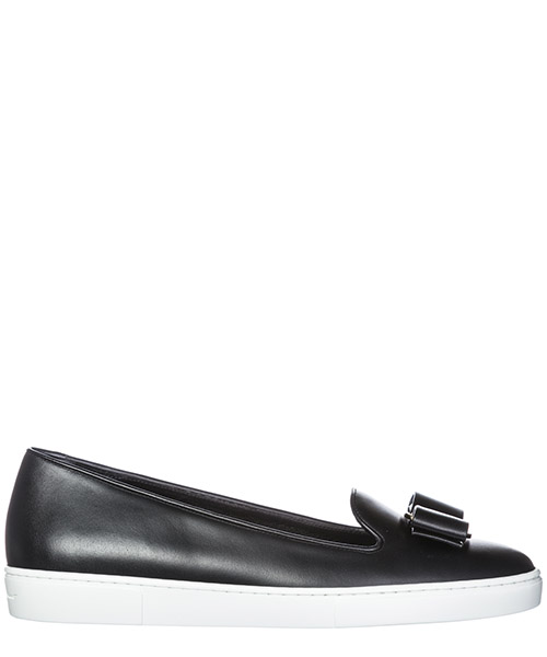 Slip on Salvatore Ferragamo 035154 694382 nero
