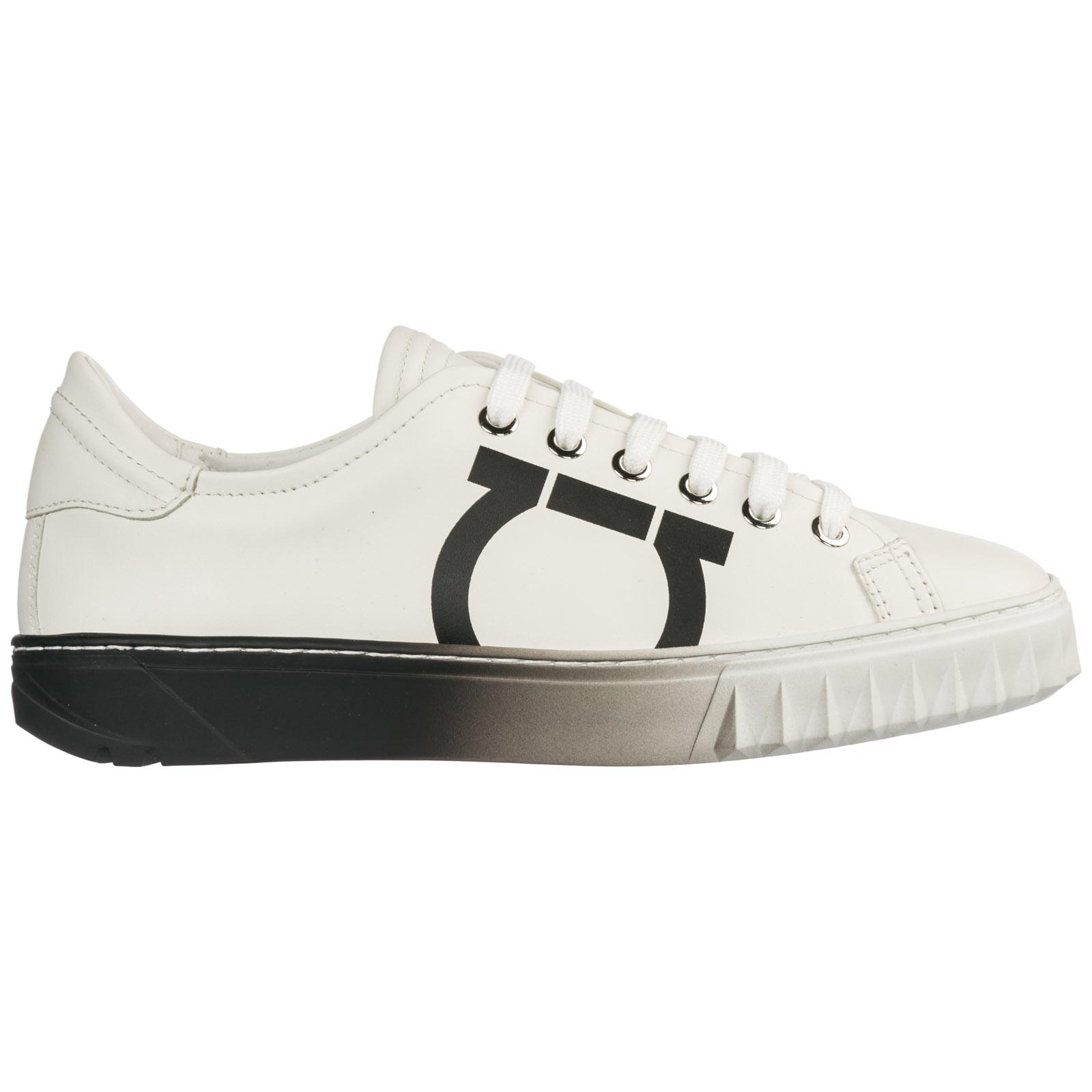 929cb647a Zapatos zapatillas de deporte mujer en piel gancini
