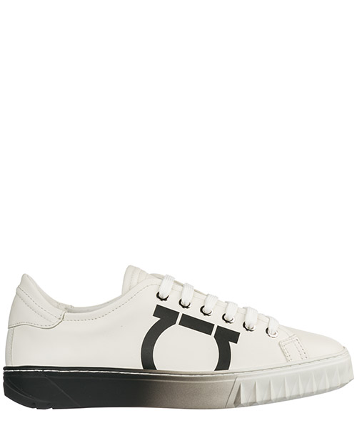 Women's shoes leather trainers sneakers gancini