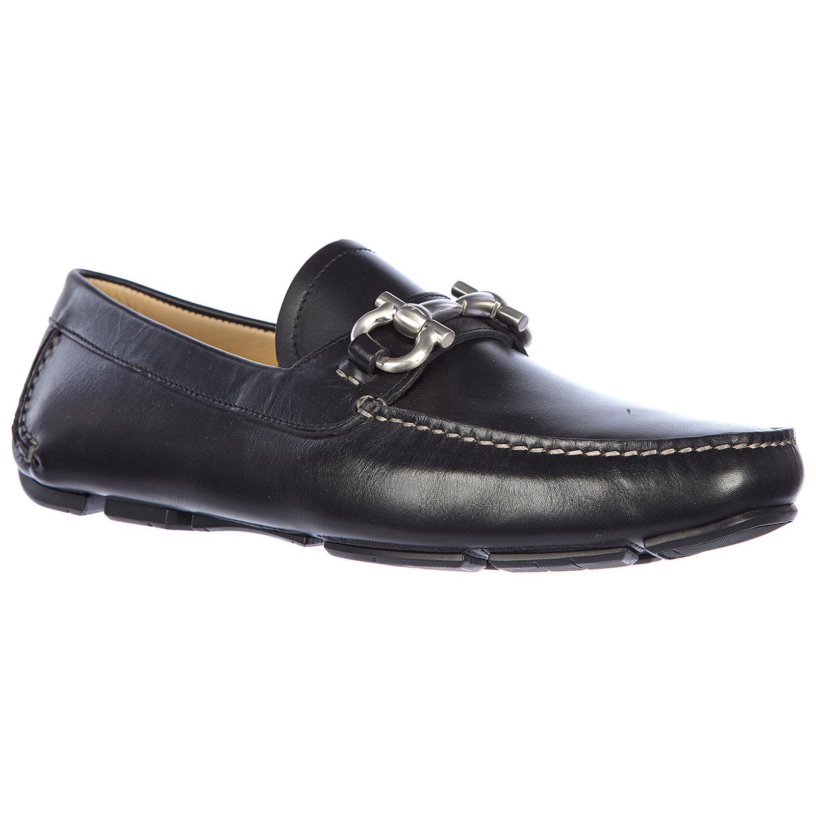 Men's leather loafers moccasins  parigi calf