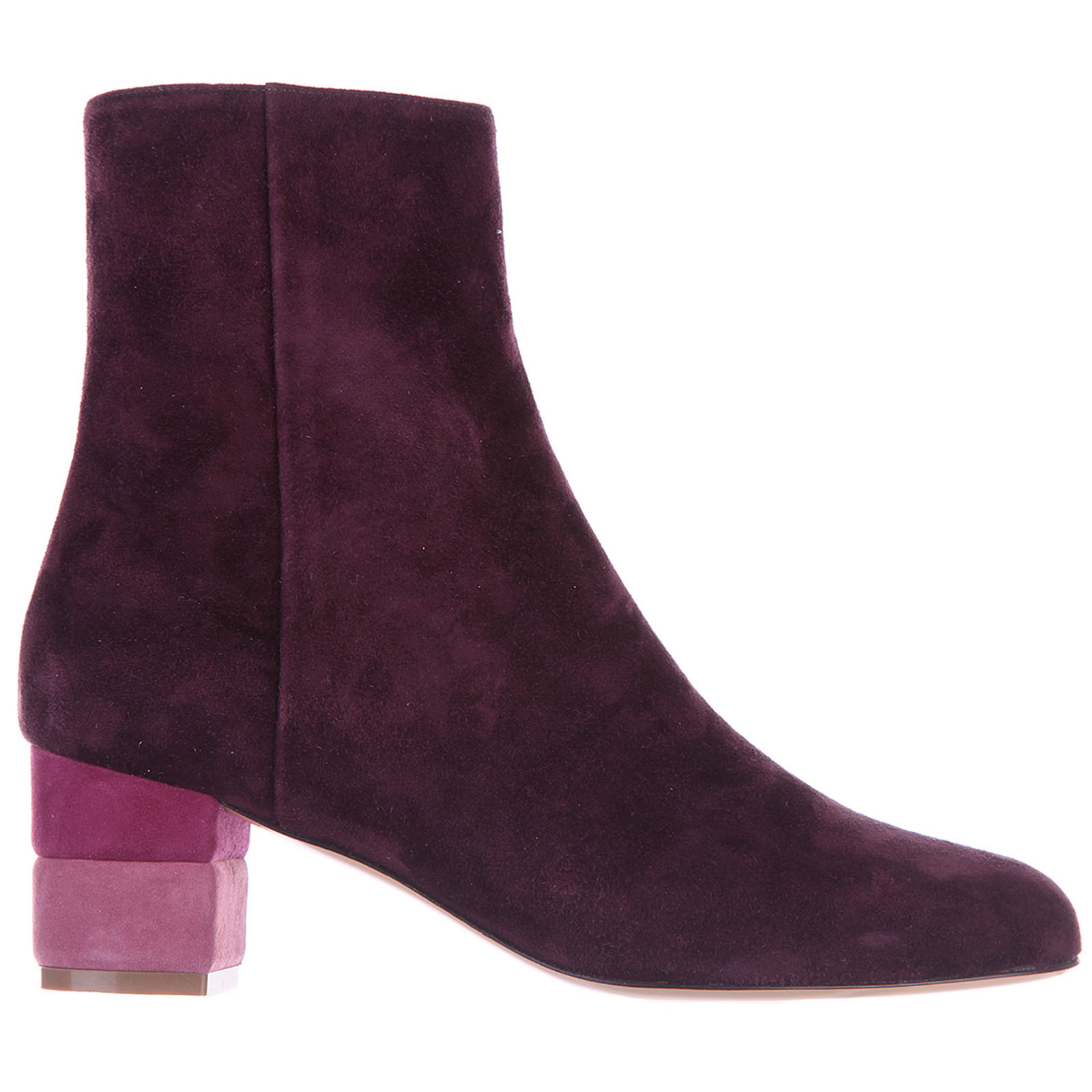 Women's suede ankle boots booties loris 55 calf