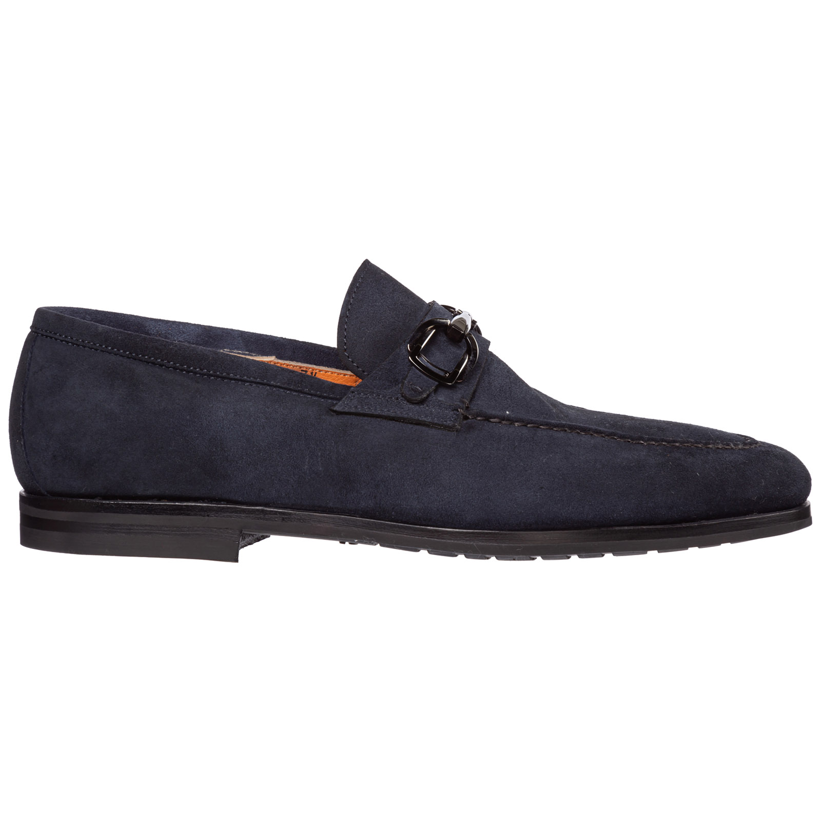 Santoni Loafers MEN'S SUEDE LOAFERS MOCCASINS