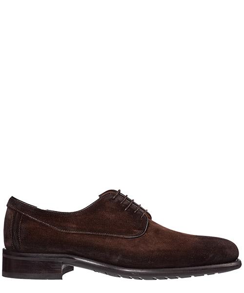 Zapatos con cordones Santoni mcz16771ul4ir0qt48 marrone