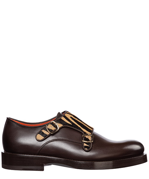 Lace-up shoes Santoni wuak58148by2crztt50 marrone