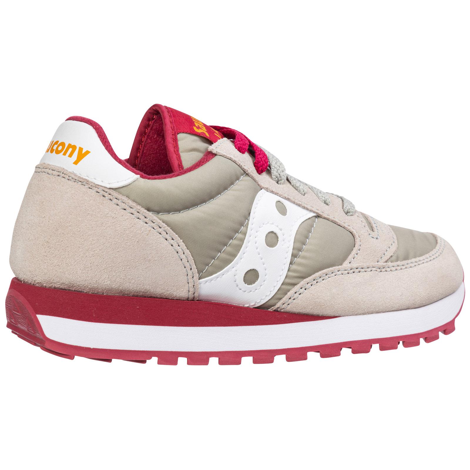 Saucony sneakers donna jazz o/' 1044 342 grigio Pelle Scamosciata