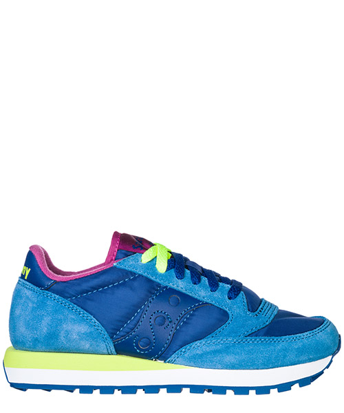 Sneakers Saucony Jazz O' 1044/269 blu navy/giallo