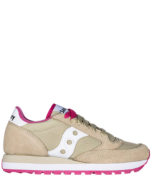 Sneakers Saucony Jazz O' 1044-305 tan / white / pink