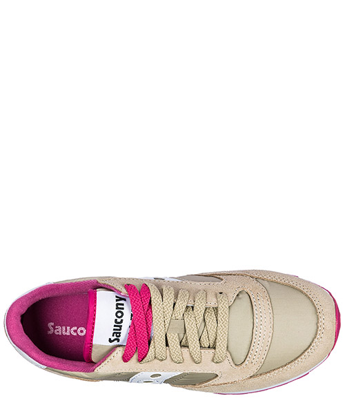 Women's shoes suede trainers sneakers jazz original secondary image