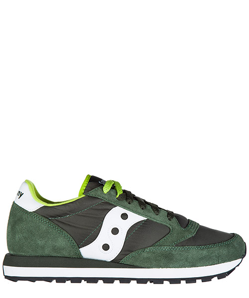 Sneakers Saucony jazz o' 2044/275 verde scuro / bianco