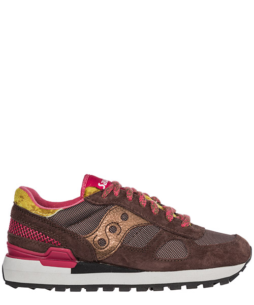 Turnschuhe Saucony Shadow O' 6028 304 brown pink