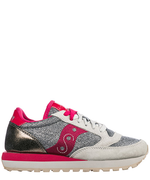 Zapatillas deportivas Saucony Jazz O' Sparkle 60450/04 silver/red