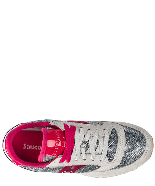 Women's shoes suede trainers sneakers jazz o sparkle secondary image