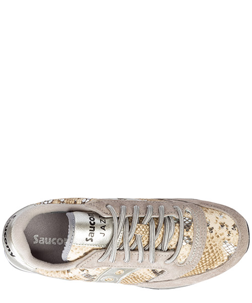 Women's shoes suede trainers sneakers jazz o triple secondary image