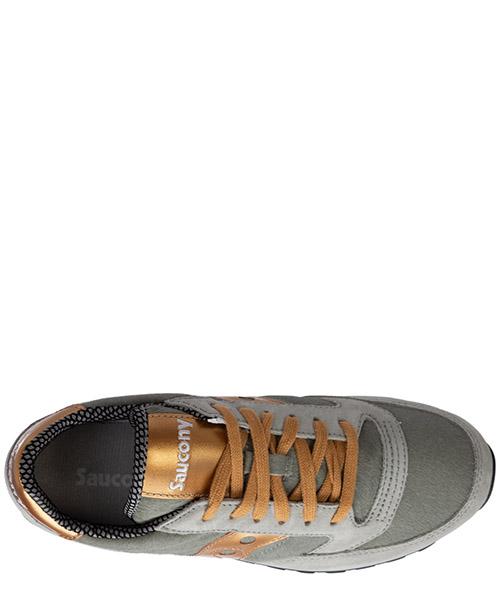 Zapatos zapatillas de deporte mujer en piel jazz triple secondary image